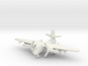 1/285 S-2 Tracker in White Natural Versatile Plastic