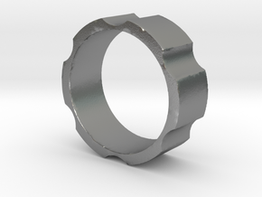 RAS - revolveHER - Mens Ring in Natural Silver