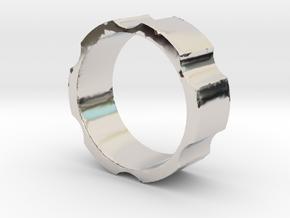 RAS - revolveHER - Mens Ring in Platinum