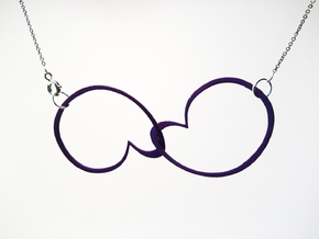 Hidden Heart Loops in Purple Processed Versatile Plastic