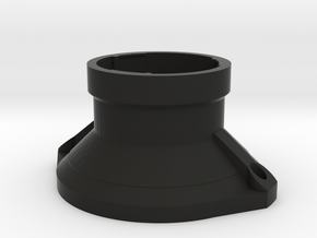 Nikon F-mount to P8079HP Adapter in Black Natural Versatile Plastic