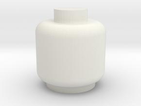 Assem1 - V2Head-1 in White Natural Versatile Plastic