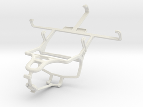 Controller mount for PS4 & Xolo A500S in White Natural Versatile Plastic