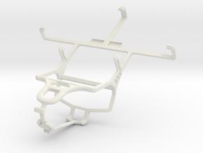 Controller mount for PS4 & ZTE Blade G V880G in White Natural Versatile Plastic
