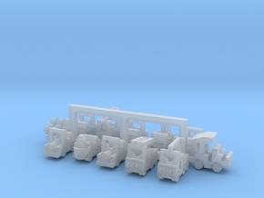 Set 2 Besatzungsteile 1:220 (Z scale) in Smooth Fine Detail Plastic