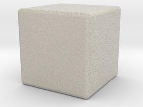 CUBE in Natural Sandstone