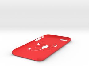 Iphone 6 scorpion case in Red Processed Versatile Plastic