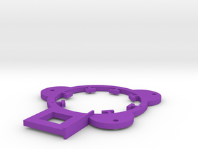 Inner Coil Set (Two req') in Purple Strong & Flexible Polished