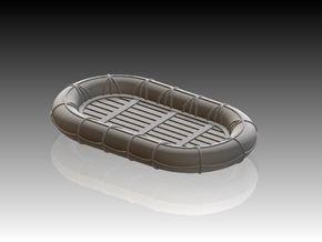 12ft x 7ft Carley float set 1/192 in Smooth Fine Detail Plastic