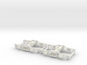 35n2 Gilpin Tramway trucks in White Natural Versatile Plastic