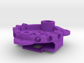 MK3 Battery Housing End in Purple Processed Versatile Plastic
