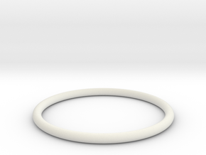 Bracelet Medium in White Natural Versatile Plastic
