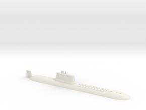 1/700 Typhoon Class SSBN (Waterline) in White Natural Versatile Plastic