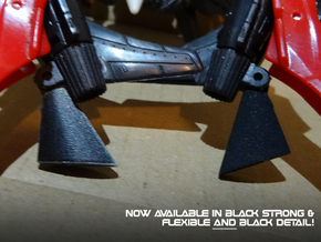 Generations Windblade - Upgraded Heel Spurs in Black Natural Versatile Plastic