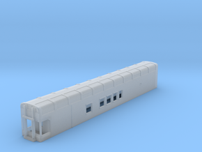 N Scale Rocky Mountaineer B Series 4'9 Platform in Smooth Fine Detail Plastic