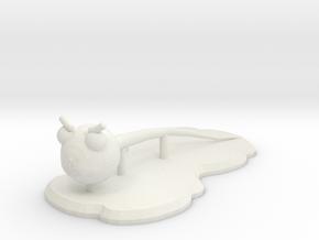 Smiletric in White Natural Versatile Plastic