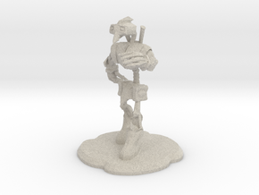 Steampunk Figure in Natural Sandstone