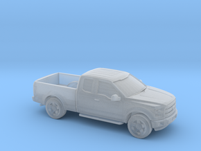 1/87 2015 Ford F150 Extended Cab  in Smooth Fine Detail Plastic