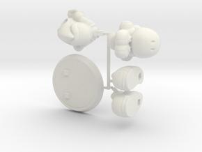 Yoshi [Kit] in White Strong & Flexible