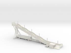 kompakte Rutsche - 1:220 / 1:160 in White Natural Versatile Plastic: 1:160 - N