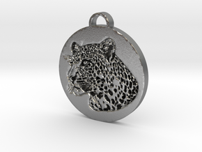 Wild Pendant in Natural Silver