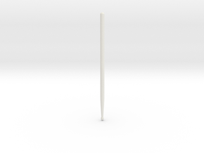 Drum Stick Model ROCK in White Natural Versatile Plastic