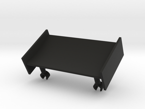 Front Wing in Black Natural Versatile Plastic