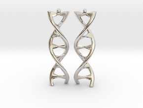 DNA Earring in Platinum