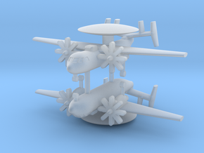 1/700 E-2C Hawkeye (x2) in Smooth Fine Detail Plastic