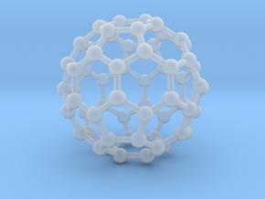 0009 Fullerene c60 ih in Smooth Fine Detail Plastic