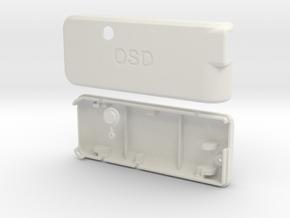 APM MinimOSD MAVLink-OSD Case in White Natural Versatile Plastic