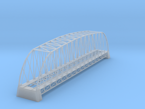 162 Ft Steel Bridge Z Scale in Smooth Fine Detail Plastic