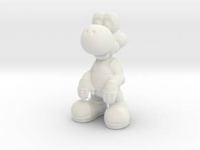 Yoshi [Charm] in White Natural Versatile Plastic