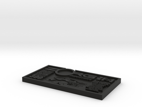 ZORG ZF-1 Debossed in Black Natural Versatile Plastic