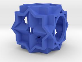 Dice146 in Blue Processed Versatile Plastic