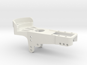 Fw190 and F to K Me109 pedal in White Natural Versatile Plastic