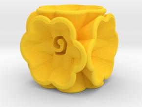 Dice147 in Yellow Processed Versatile Plastic