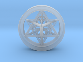 Merkaba Gauge Size 3/4 in Smooth Fine Detail Plastic