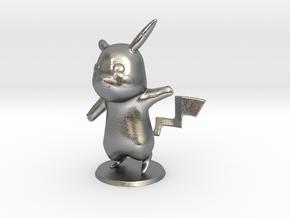 Pikachu in Natural Silver