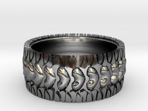 Street Love 7 in Fine Detail Polished Silver