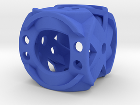 Dice149 in Blue Processed Versatile Plastic