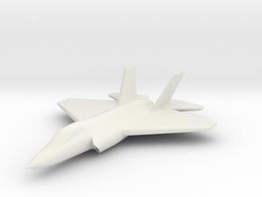 1/285 (6mm) F-35C Carrier Version in White Natural Versatile Plastic