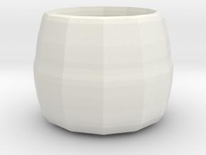 small plant pot in White Natural Versatile Plastic