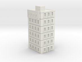 Hana Building in White Natural Versatile Plastic