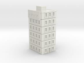 Hana Building in White Natural Versatile Plastic