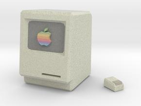 Apple I & Mouse in Full Color Sandstone