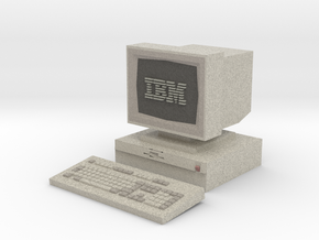IBM PS/2 Model 30 [Hollowed] [Medium] in Full Color Sandstone