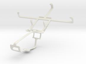 Controller mount for Xbox One & Acer Liquid E1 in White Natural Versatile Plastic