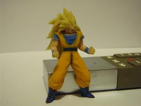 DBZ - SanGoku SS3 with Socle in Full Color Sandstone