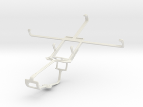 Controller mount for Xbox One & Acer Liquid S1 in White Natural Versatile Plastic